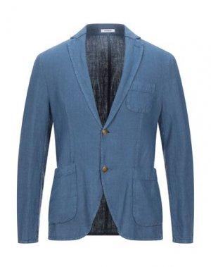 Пиджак OFFICINA 36. Цвет: грифельно-синий