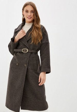 Пальто Acasta. Цвет: коричневый