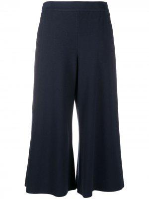 Укороченные брюки широкого кроя Steffen Schraut. Цвет: синий
