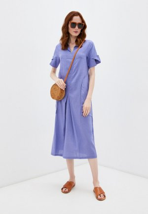 Платье Dimma. Цвет: фиолетовый