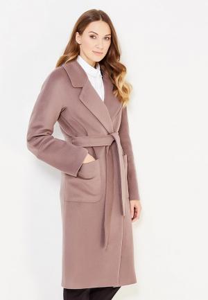 Пальто Ostraya Roza. Цвет: коричневый