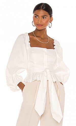 Блузка caterina Shona Joy. Цвет: белый