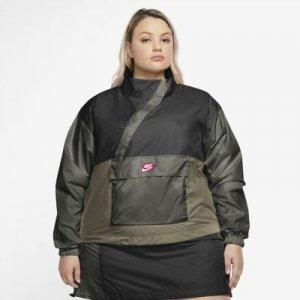 Женский анорак из тканого материала Sportswear Icon Clash (большие размеры) - Черный Nike