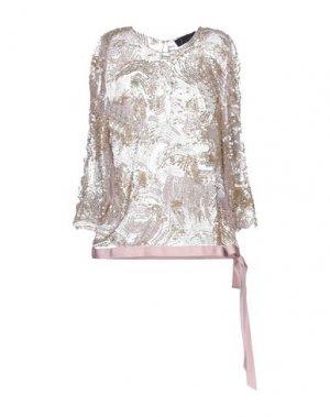 Блузка JENNY PACKHAM. Цвет: розовый