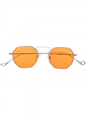 Солнцезащитные очки в восьмиугольной оправе Eyepetizer. Цвет: серебристый