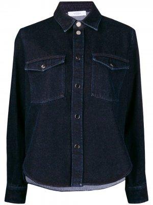Джинсовая куртка-рубашка Roseanna. Цвет: синий