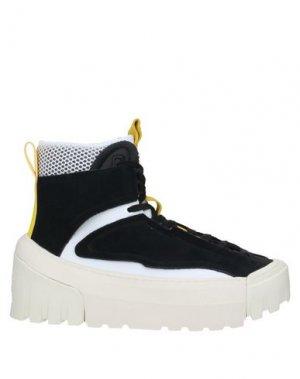 Высокие кеды и кроссовки ONITSUKA TIGER. Цвет: черный