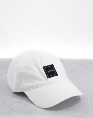 Белая кепка с текстовым логотипом -Белый Hollister
