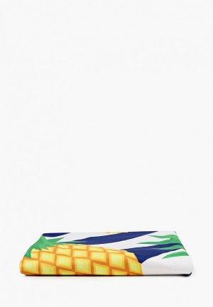 Коврик пляжный Bradex АНАНАС,  d 150 см. Цвет: разноцветный