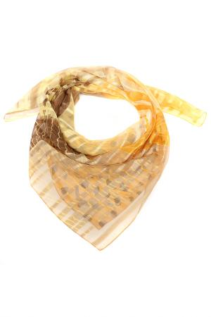 Платок F.FRANTELLI. Цвет: желтый, песочный, бежевый