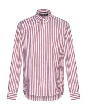 Pубашка MICHAEL KORS MENS. Цвет: красно-коричневый