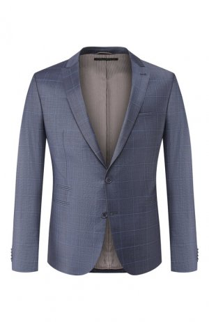 Шерстяной пиджак Drykorn. Цвет: синий