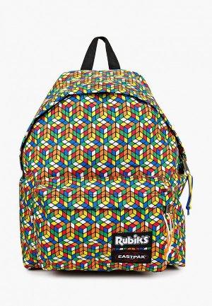 Рюкзак Eastpak x Rubiks. Цвет: разноцветный