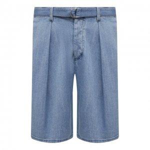 Джинсовые шорты Giorgio Armani. Цвет: синий