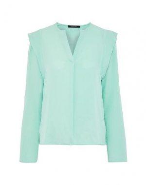 Блузка DEREK LAM. Цвет: светло-зеленый