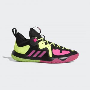 Баскетбольные кроссовки Harden Stepback 2.0 Performance adidas. Цвет: черный