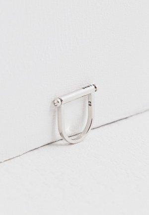 Кольцо DKNY. Цвет: серебряный