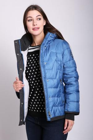 Куртка Just Valeri. Цвет: синий