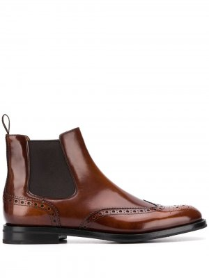 Churchs ботинки челси Ketsby с брогированием Church's. Цвет: коричневый
