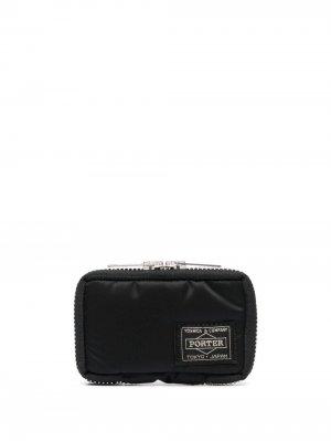 Ключница с нашивкой-логотипом Porter-Yoshida & Co.. Цвет: черный