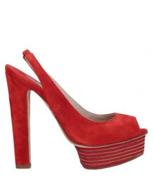 Сандалии ENIO SILLA for LE. Цвет: красный