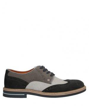 Обувь на шнурках AMBITIOUS. Цвет: стальной серый