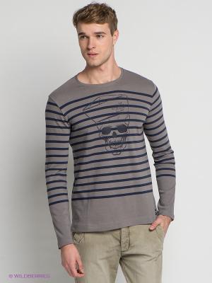 Джемпер Little Marcel. Цвет: серый, синий