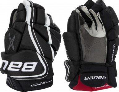 Перчатки хоккейные VAPOR X800 LITE - SR Bauer. Цвет: черный