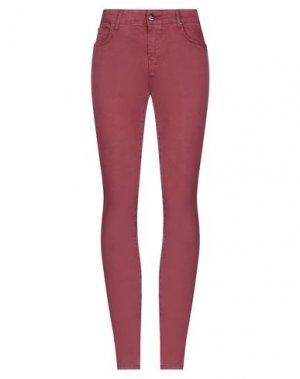 Повседневные брюки FRACOMINA. Цвет: пурпурный