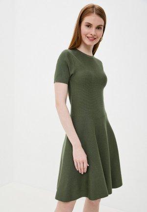 Платье Tantra. Цвет: зеленый