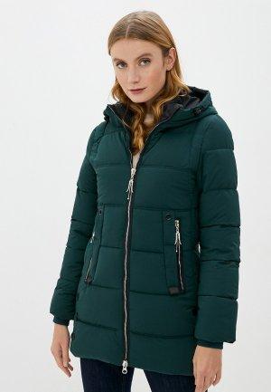 Куртка утепленная Marcella. Цвет: зеленый