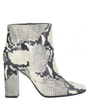 Полусапоги и высокие ботинки ANNA F.. Цвет: бежевый