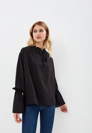 Блуза AlexandraKazakova. Цвет: черный