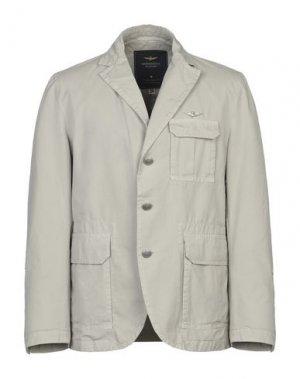 Пиджак AERONAUTICA MILITARE. Цвет: светло-серый