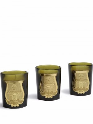 Odeurs Royales candle set Cire Trudon. Цвет: зеленый