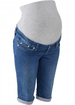 Бермуды для беременных bonprix. Цвет: синий