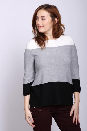 Пуловер Bianca. Цвет: разноцветный