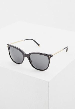 Очки солнцезащитные Dolce&Gabbana DG4333 501/87. Цвет: черный