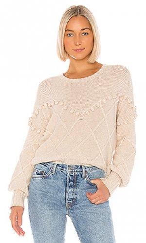Пуловер kaaya NSF. Цвет: беж