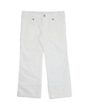 Повседневные брюки BRUMS. Цвет: белый