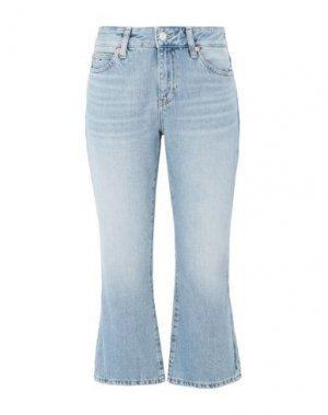Джинсовые брюки-капри TOMMY JEANS. Цвет: синий