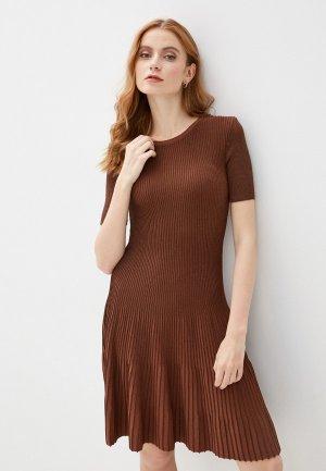 Платье adL. Цвет: коричневый