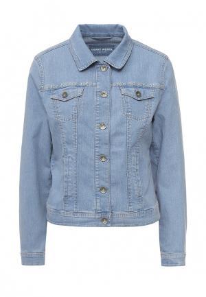 Куртка джинсовая Gerry Weber. Цвет: голубой