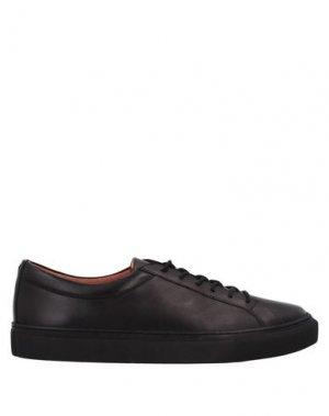 Низкие кеды и кроссовки FRANK WRIGHT. Цвет: черный