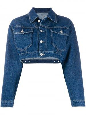 Укороченная джинсовая куртка Chiara Ferragni