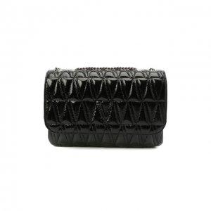 Сумка Virtus Versace. Цвет: чёрный