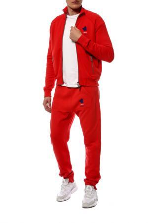 Спортивный костюм DSquared2. Цвет: красный