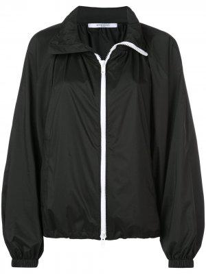 Куртка-бомбер в стиле оверсайз Givenchy. Цвет: черный