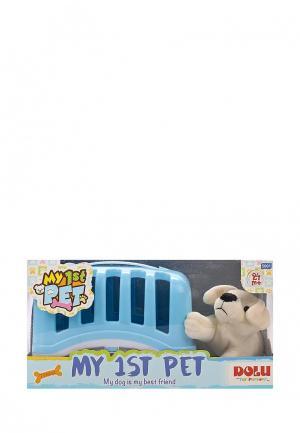 Набор игровой Dolu мой Любимый щенок. Цвет: голубой