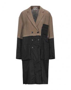 Легкое пальто HACHE. Цвет: хаки